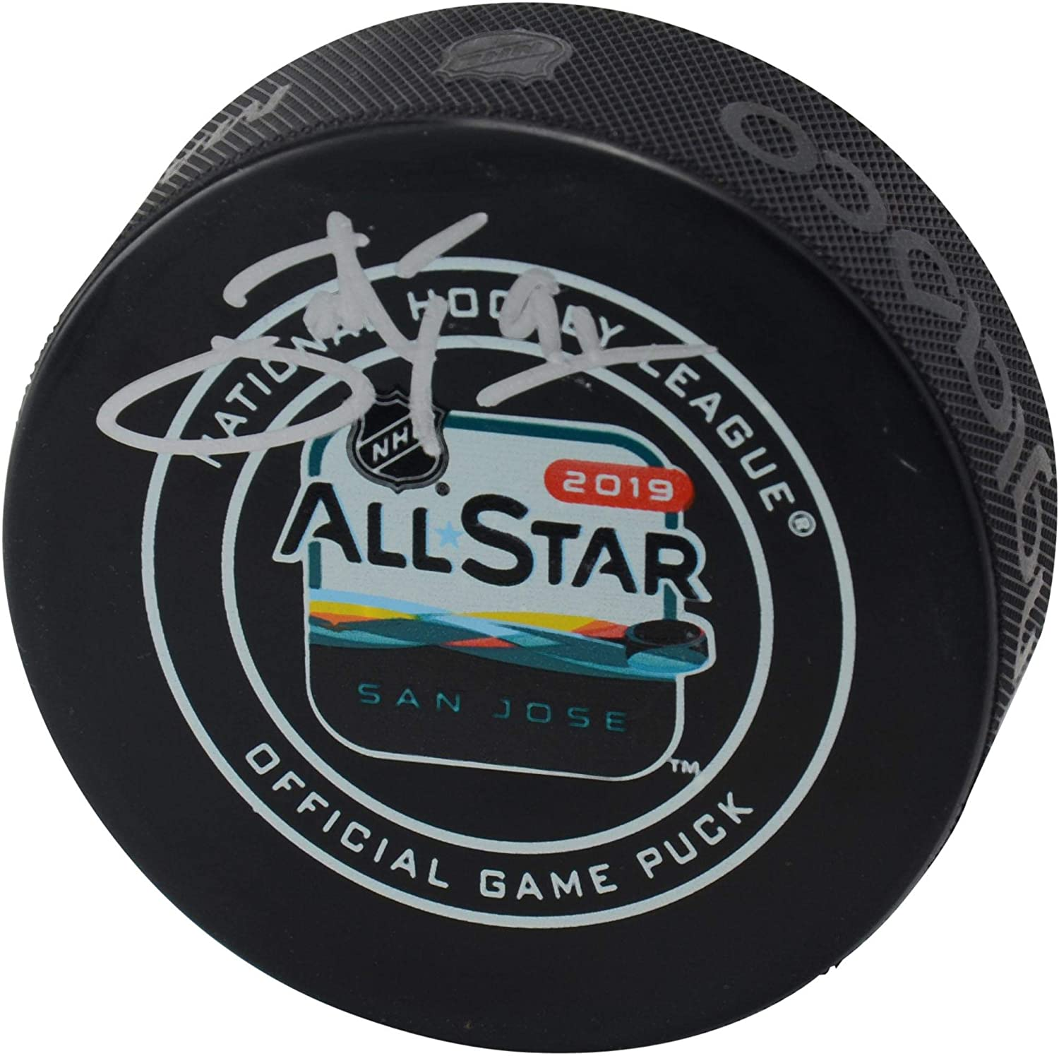 John Tavares Toronto Maple Leafs Autographed 2019 NHL All-Star Game Official Game Puck - Fanatics Authentic Certified