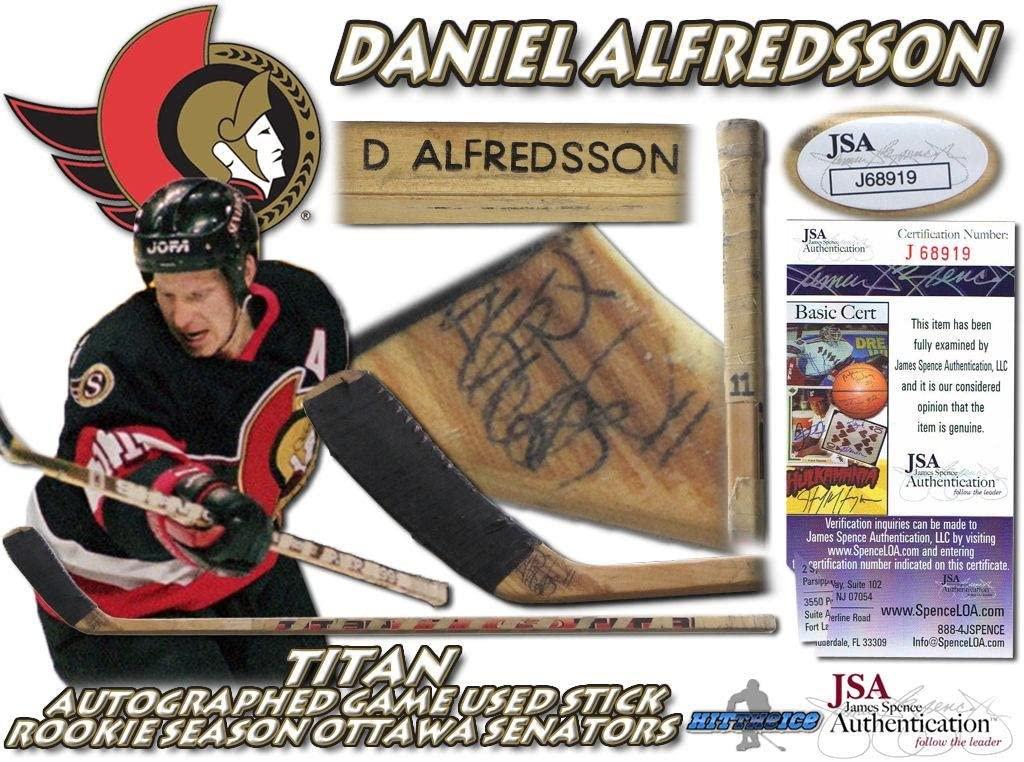 DANIEL ALFREDSSON Signed
