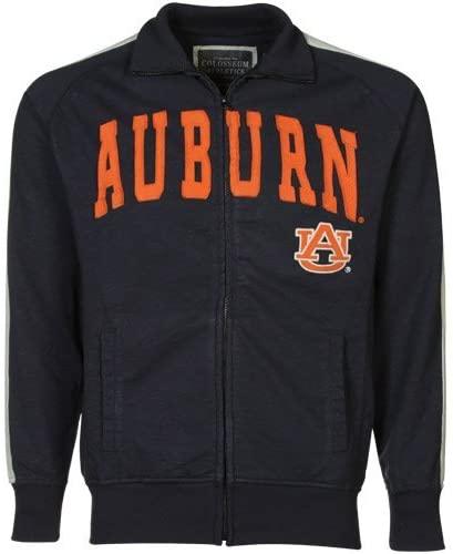 Colosseum NCAA Auburn Tigers Pinnacle Jacket, Navy