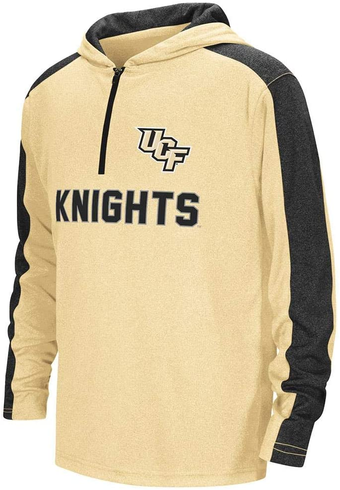 Colosseum Youth UCF Knights Quarter Zip Hooded Windshirt