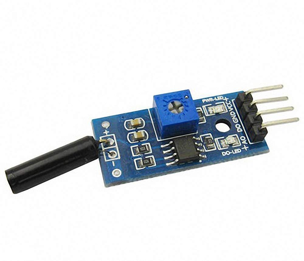 1pcs Normally Open Shock Sensor Module Vibration Sensor Module Alarm Module