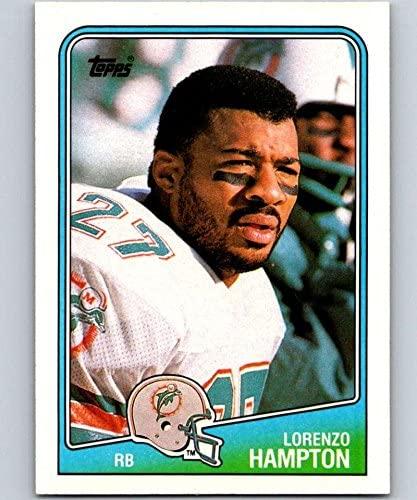 1988 Topps #192 Lorenzo Hampton Dolphins NFL Football
