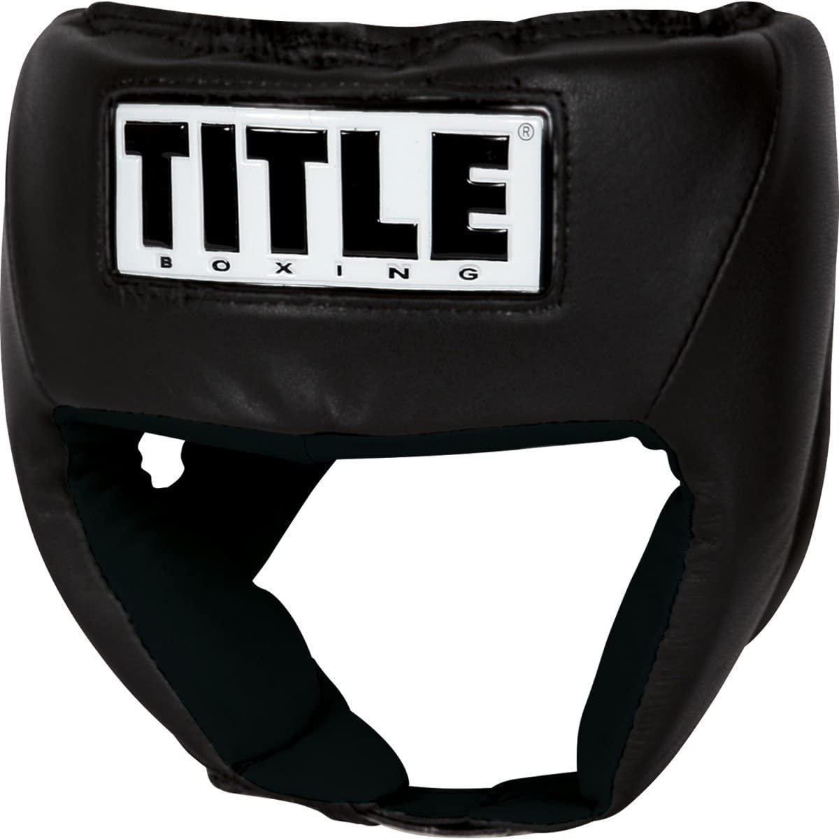 Title USA Boxing Amateur Competition Headgear (Open Face)