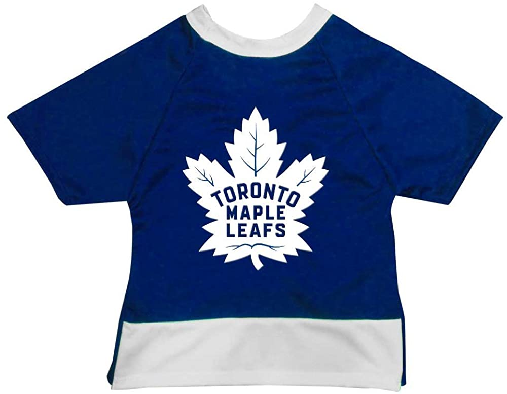 NHL Toronto Maple Leafs Athletic Mesh Dog Jersey, Small, Royal