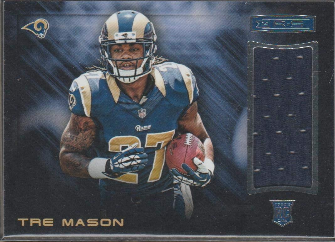 2014 Panini R&S Tre Mason Rams Rookie Jersey Football Card #38
