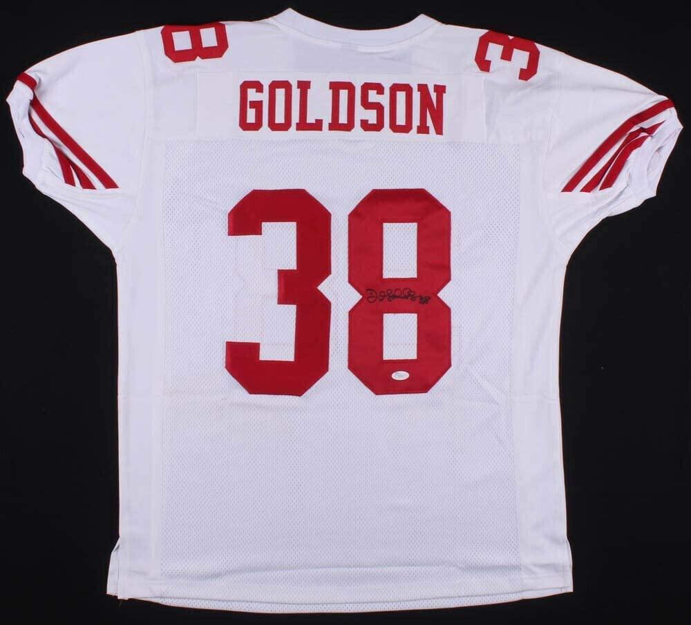 Dashon Goldson Autographed Signed San Francisco 49Ers Jersey (JSA COA) 2Xpro Bowl D.B.