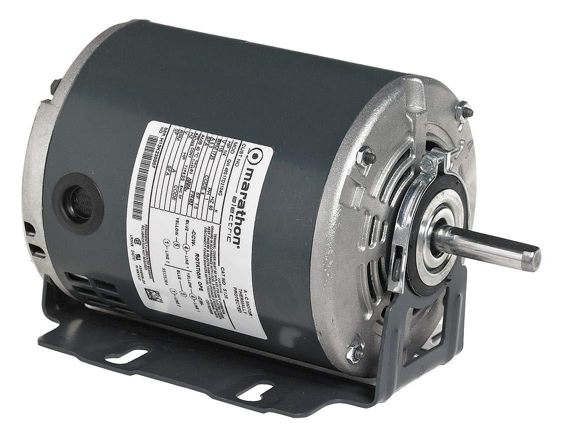 SP Motor, Split-Ph, 60 Hz, 1/2 HP