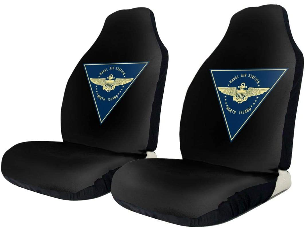 KEEDCE&FJE Naval Air Station North Island Universal Car Seat Cover Car Seat Covers Protector for Automobile Truck SUV Vehicle