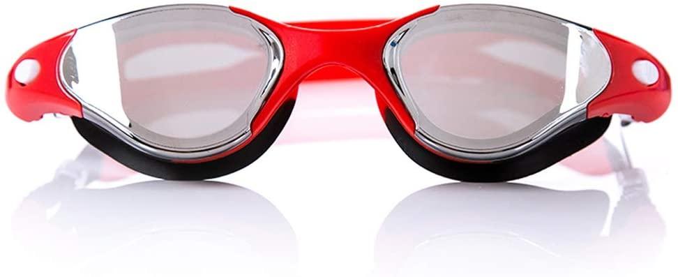 AduYan Waterproof Anti-Fog HD Goggles Men and Women Profession Swimming Goggles
