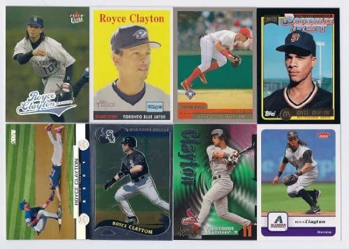 Lot of 14 Different Royce Clayton Baseball Cards No Dupes!