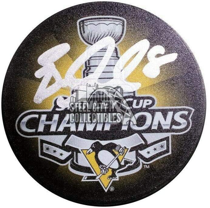 Autographed Brian Dumoulin Puck - Stanley Cup Champions BAS COA - Beckett Authentication - Autographed NHL Pucks