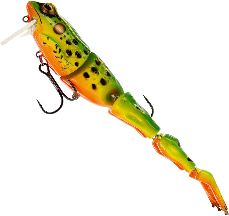 Westin 112-429-134 Freddy Frog Wake Bait, Green Hot Frog 3 1/2