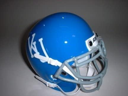 Schutt Kansas Jayhawks (1984) Mini Throwback Football Helmet from