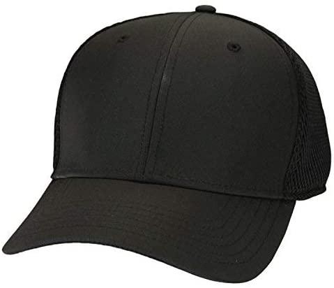 adidas Men's Tour Cage Custom Hat (L/XL, Black)