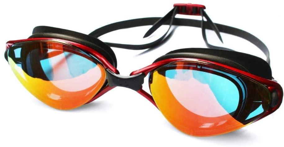 Swimming Goggles Professional Swimming Goggles Anti-Fog Uv Adjustable Plating Men Women Waterproof Silicone Glasses Adult Eyewear