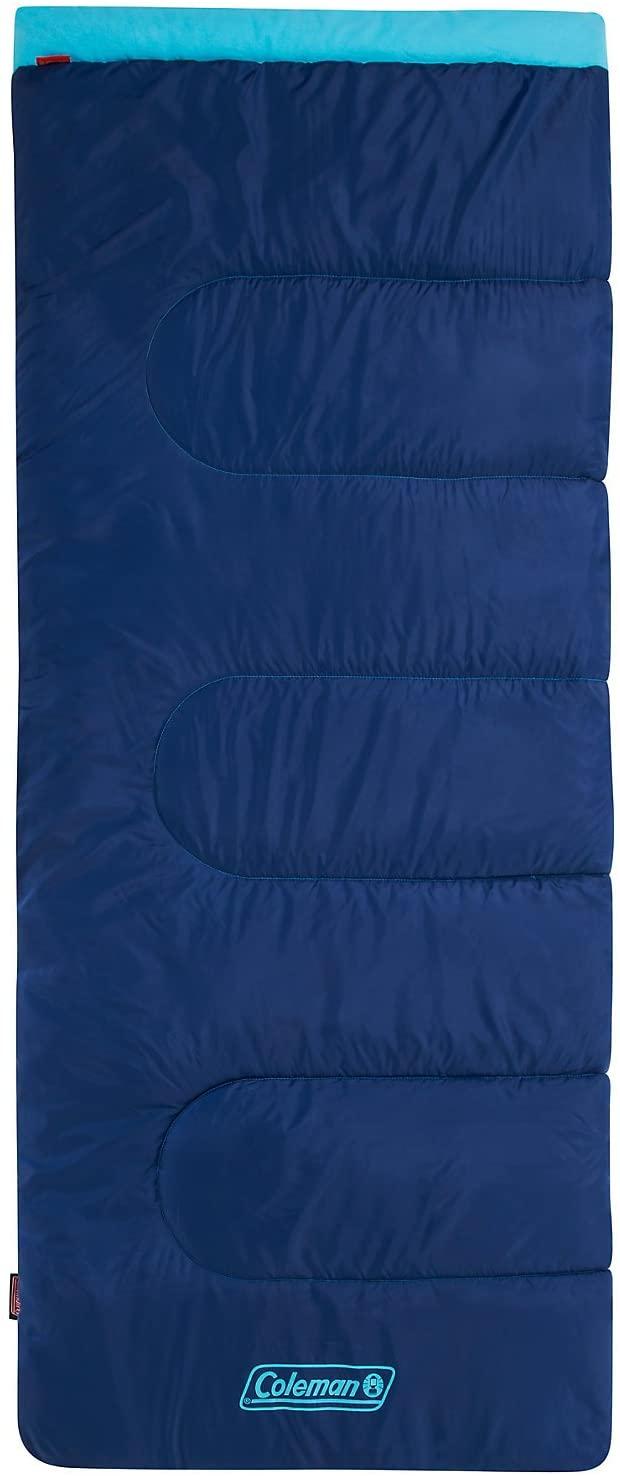 Coleman Heaton Peak Sleeping Bag Blue Single