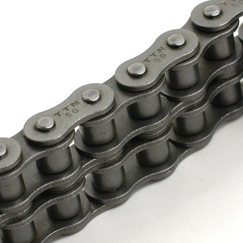 TRITAN 35-2R 10FT Precision ANSI Double Roller Chain, 3/8