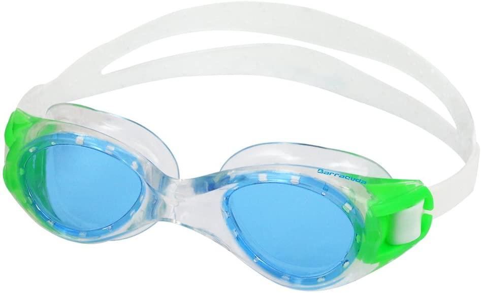 Barracuda Titanium JR Junior Swim Goggle - One-Piece Frame for Children Ages 7-15 (30920)