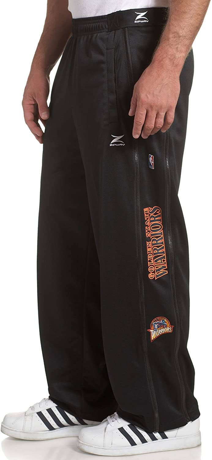 Golden State Warriors NBA Team Panel Pant With Zipway Shell