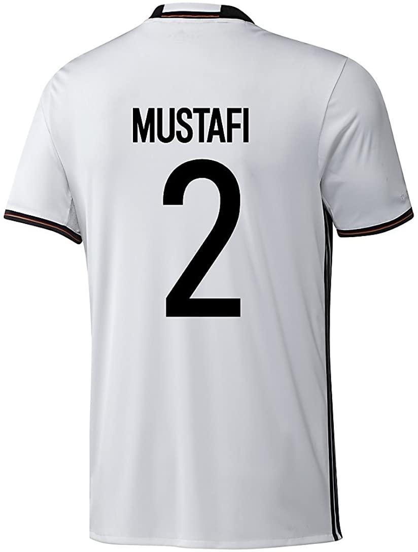 Adidas Mustafi #2 Germany Home Soccer Jersey Euro 2016 YOUTH.
