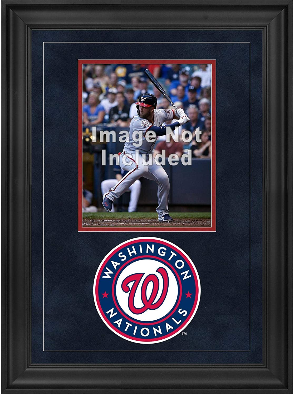 Fanatics Authentic MLB Washington Nationals Washington Nationals Deluxe 8 x 10 Vertical Photograph Frame with Team Logo