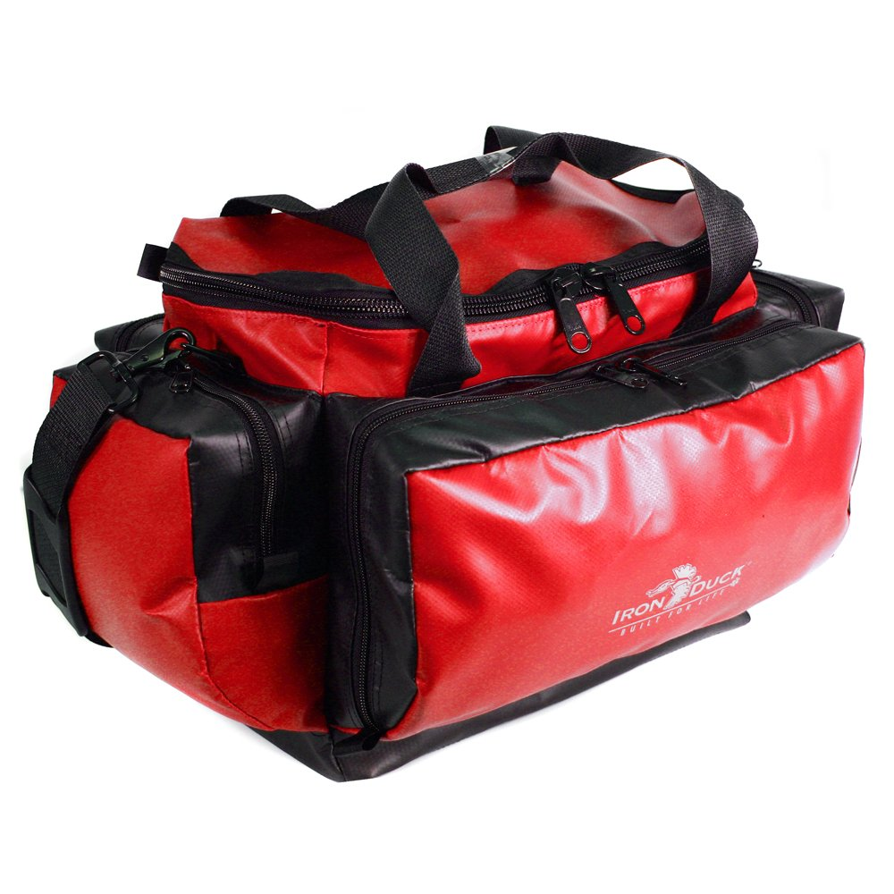 Iron Duck 32350-UP-RED Trauma Pack Plus with Tapered Exterior Pockets