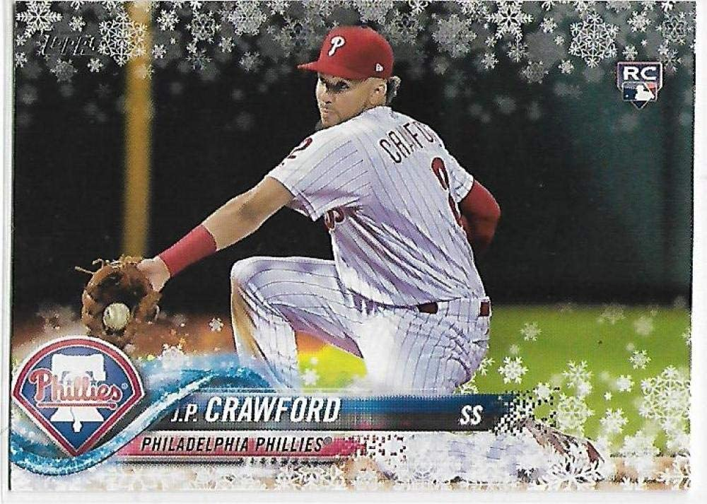 2018 Topps Holiday #HMW175 J.P. Crawford NM-MT RC Rookie Phillies