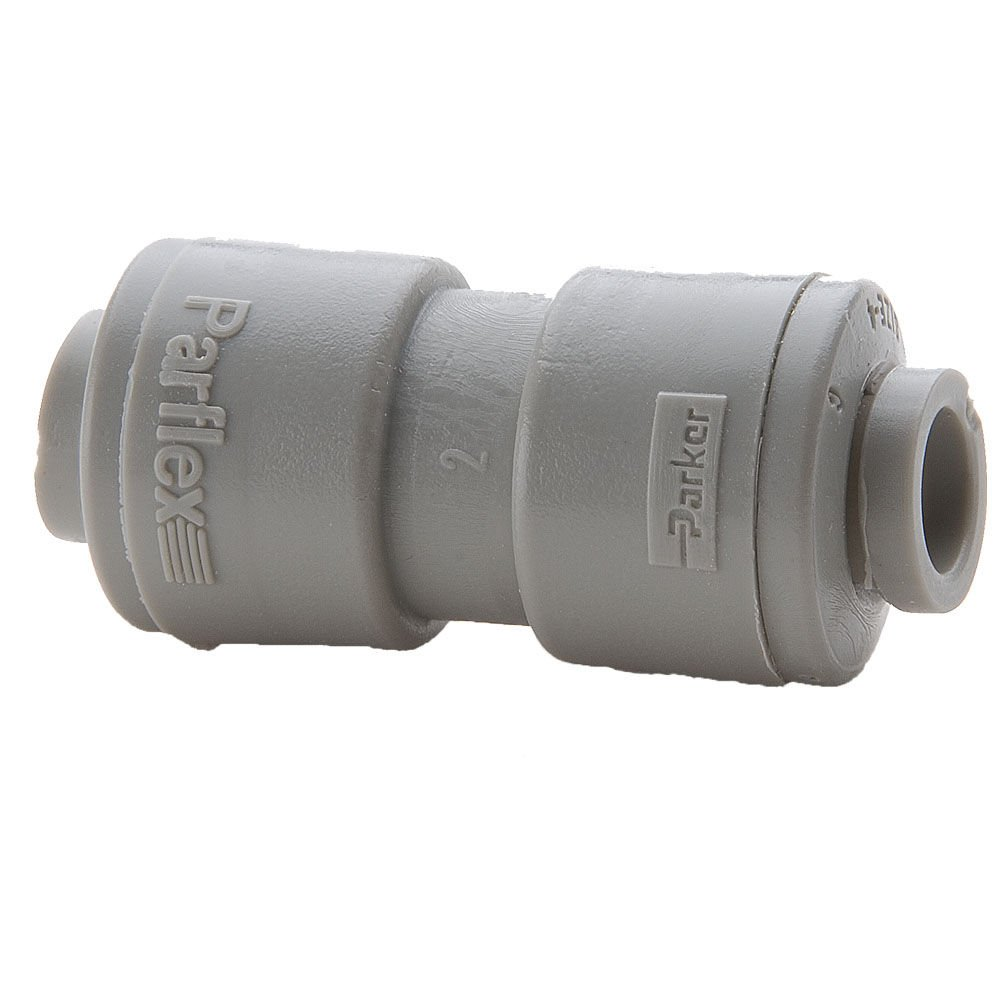Parker A5UC4-MG-pk10 Push-to-Connect All Plastic FDA Compliant Fitting, True Seal, Tube to Tube, Push-to-Connect Union, Acetal, 5/16