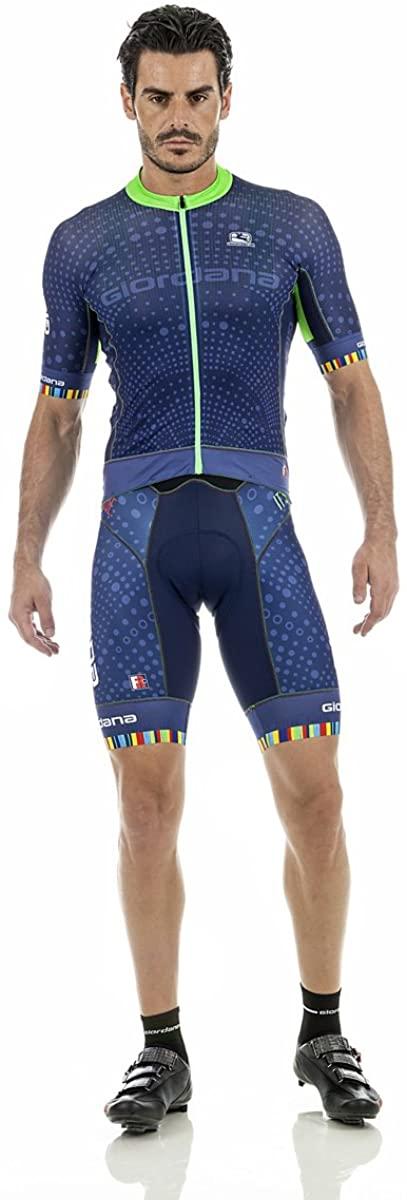 Giordana Mens Polaris Moda FRC Pro Short Sleeve Cycling Jersey - GICS17-SSJY-FRCP-POLA