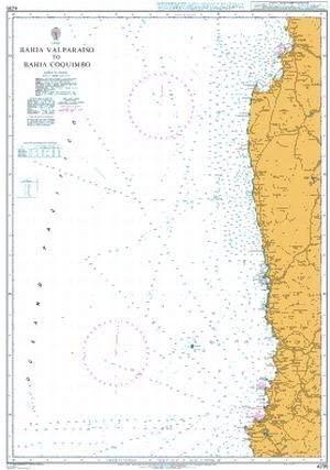 UKHO BA Chart 4235: Bahia Valparaiso to Bahia Coquimbo