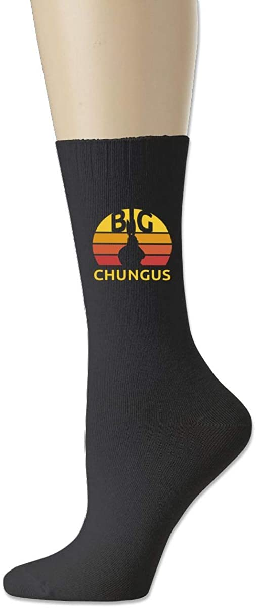 Cotton Socks Big Cute Chungus Moisture Control Crew Socks For Men Women Youth