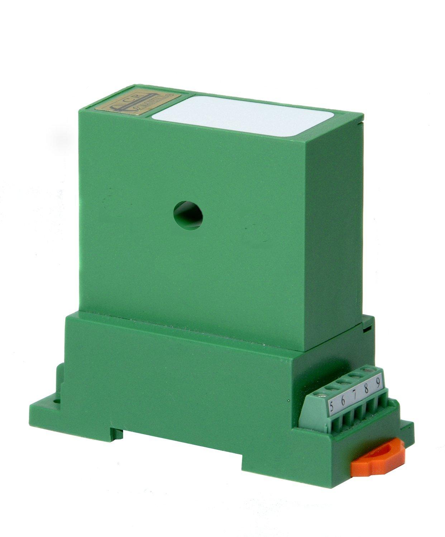 CR Magnetics CR6210-250-20 AC Power Transducer with Single Phase Active Power, 20 - 5 KHz, >=2K Output Load, 12 VDC, 0-250 VAC 0-20 AAC Input Range, 0 - 5 VDC Output Range