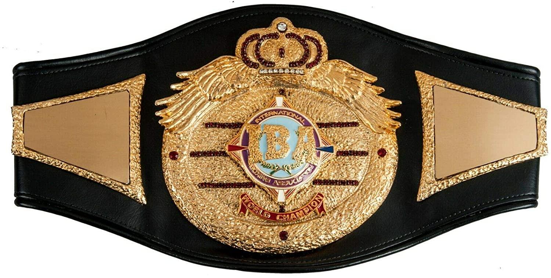 IBA World Champion Replica Belt Adult Size
