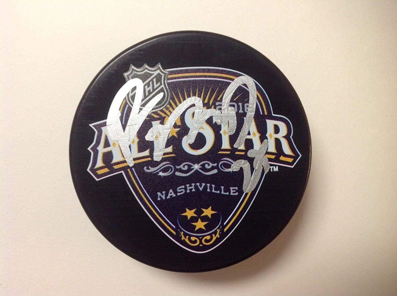 Ryan McDonagh Autographed Hockey Puck - 2016 NHL All Star Go a - Autographed NHL Pucks