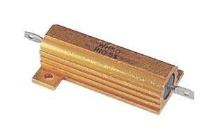 VISHAY DALE RH050R1000FE02 RESISTOR WIREWOUND, 0.1 OHM, 50W, 1%