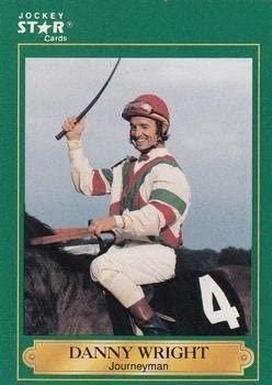 Danny Wright trading card (Horse Racing) 1991 Jockey Star #209