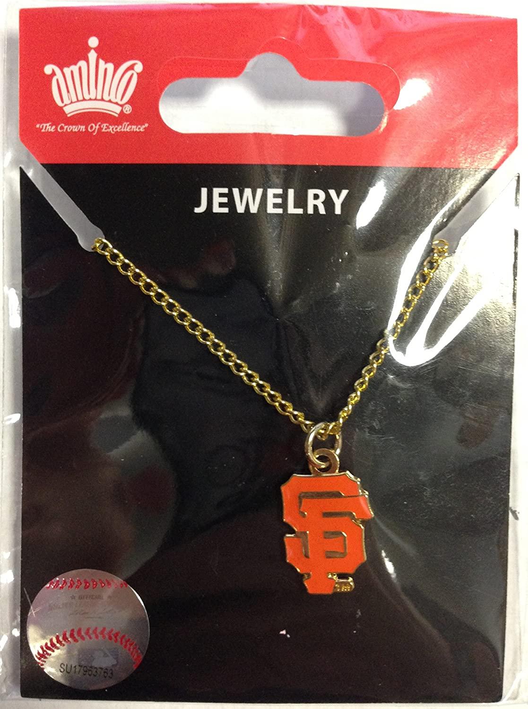 MLB San Francisco Giants Logo Pendant Necklace