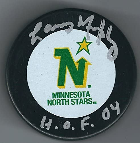 Autographed Larry Murphy Hockey Puck - Autographed NHL Pucks