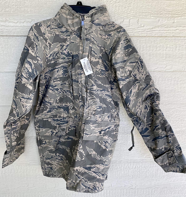 New Genuine Us Air Force USAF Apecs ABU Goretex Cold Weather Parka - Small Regular.