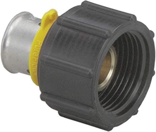 Viega PEX Press Port Adapter For ManaBloc, 1/2 Press x 1/2 Port Zero Lead Bronze- Pack of 5