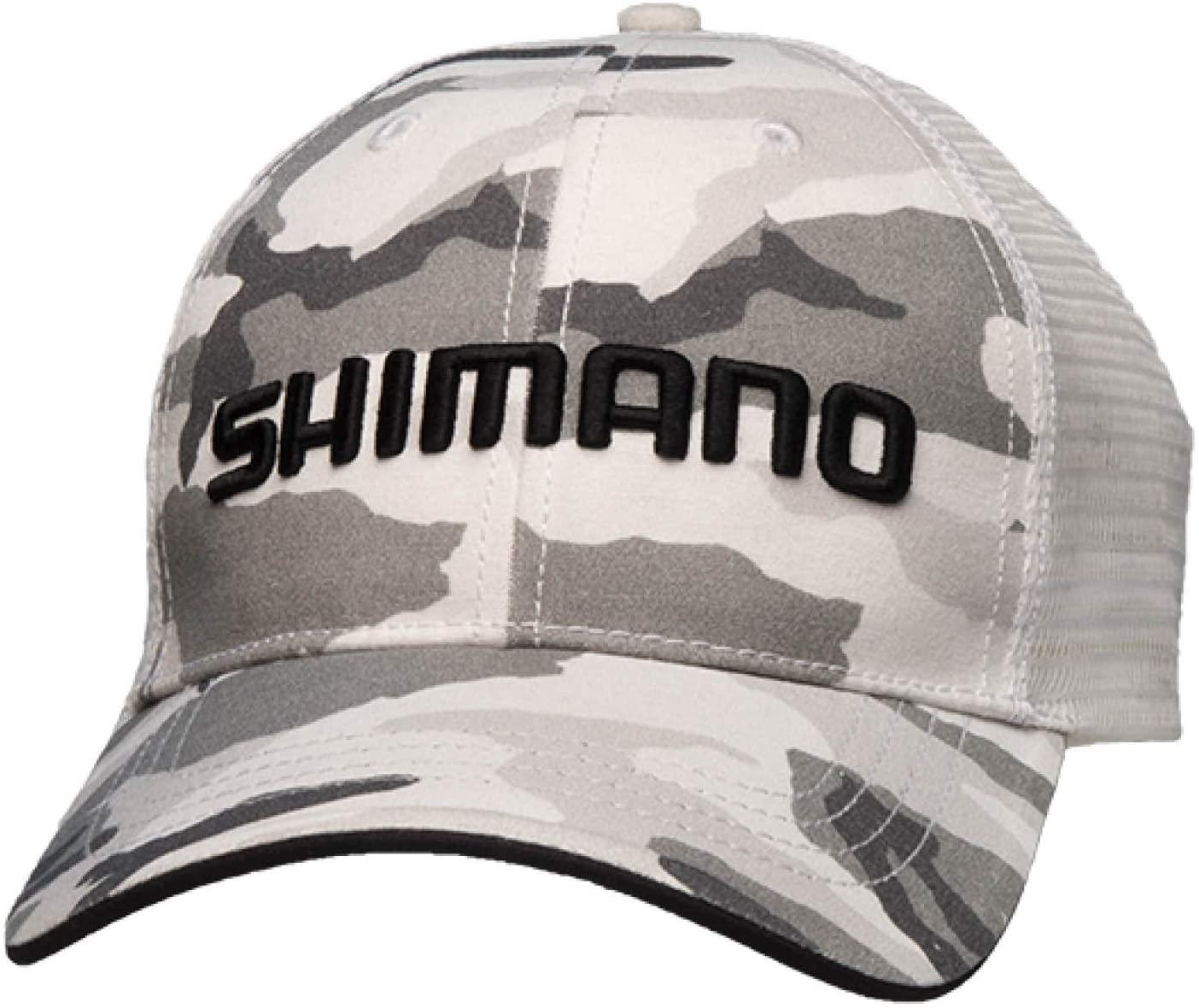 Shimano Smokey Trucker Hat; Camo; OSFM