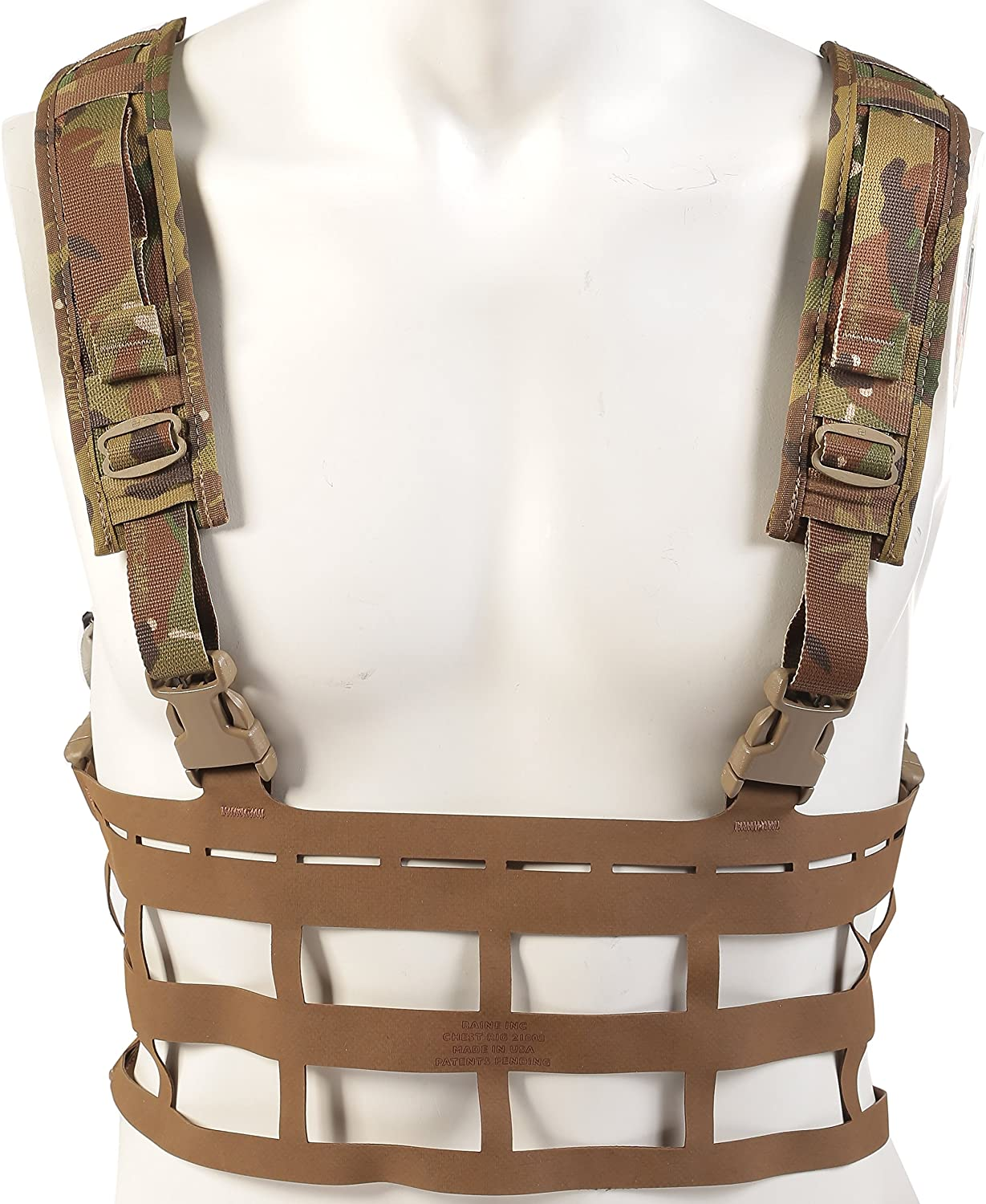 Raine Vector Ultra Light Large Special Forces Chest Rig, Multicam