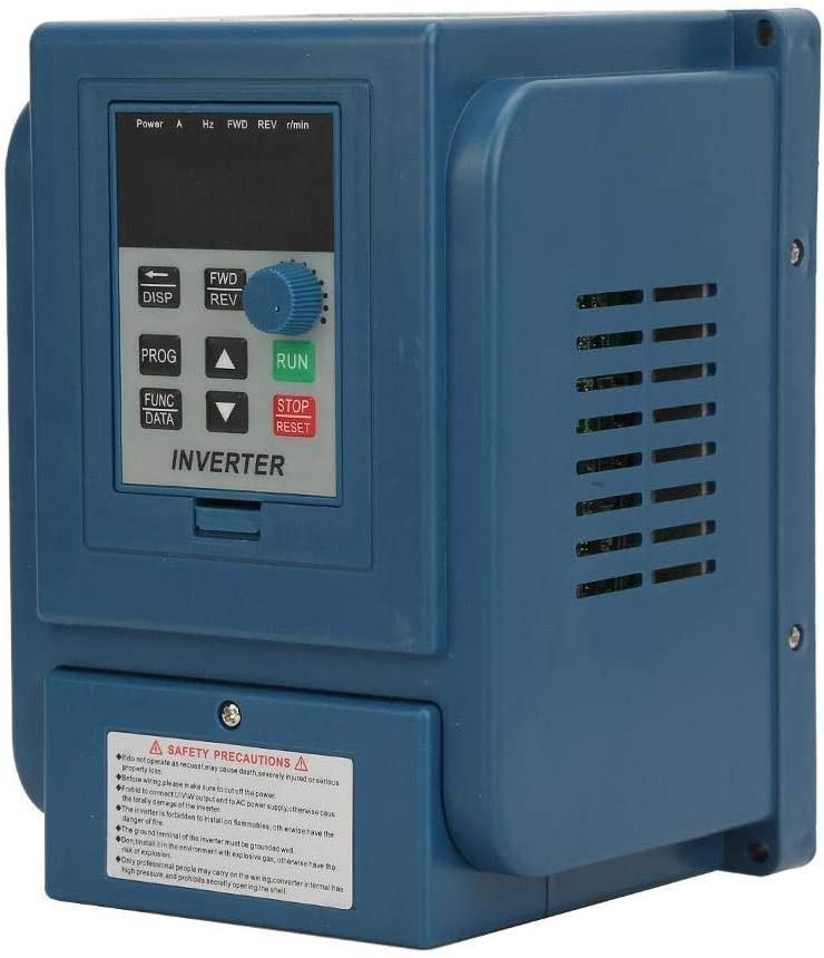 LHQ-HQ VFD Motor, Variable Frequency Drive, 2.2kW CNC Converter, Professional Inverter Controller for Phase Motor Speed Control