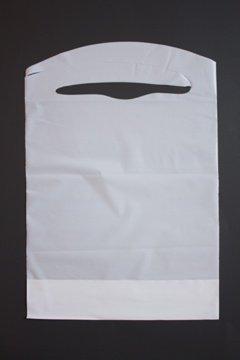 Disposable White Children's Bibs 100 Pack Plastic