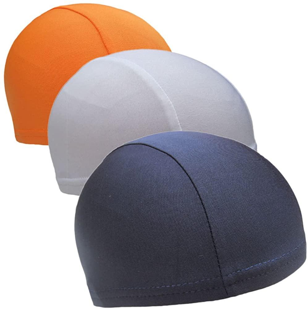 LZYMSZ 3 Pcs Helmet Liner Speed Dry Skull Cap Under Helmet Cycling Headgear Bicycle Fleece Hat Sports Breathable Beanie