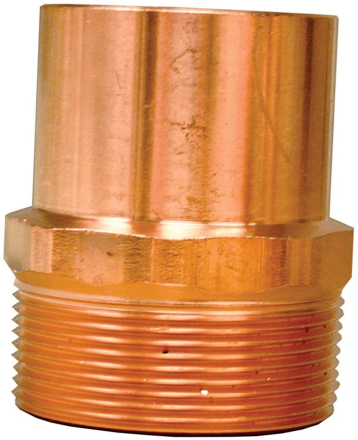 Jones Stephens Corp - 1/2Ftg X 3/4Mip Fitting Adapter (604-2)