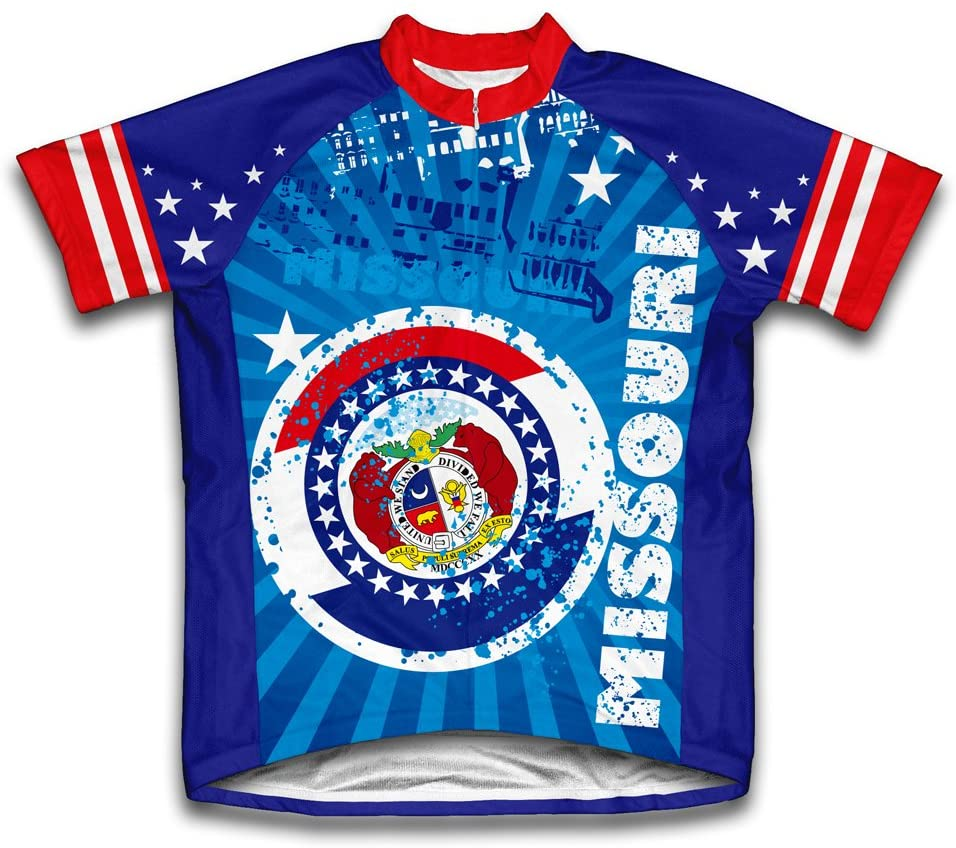 ScudoPro Missouri Short Sleeve Cycling Jersey for Youth