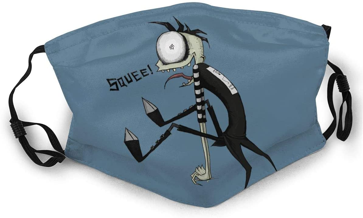 Qwertyi Johnny The Homicidal Maniac Adult Dust Cover Unisex Anti Dust Cloth Adjustable Tightness with Buckle