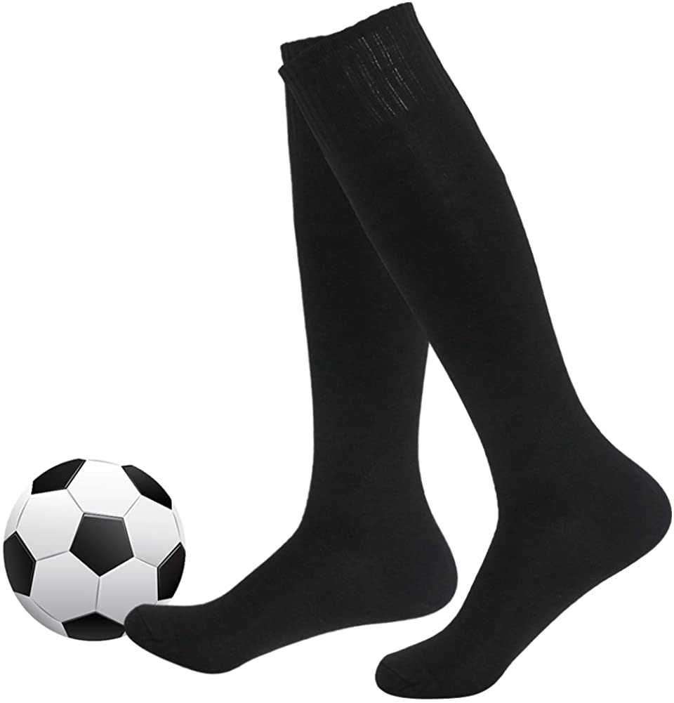 Soccer Socks,Fasoar Unisex Team Sports Football Long Tube Socks Pack of 2,6,10