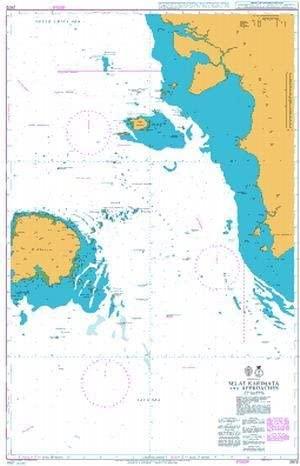 UKHO BA Chart 2872: Selat Karimata and Approaches